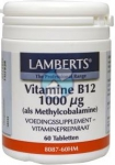 Lamberts Vitamine B12 1000mcg Methylcobalamine 60 tabletten